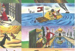 Kouzelný kufr a ilustrace Kuby Zicha
