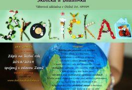 Zápis do Školičky u Budulínka na rok 2018/2019 spojený s oslavou Země