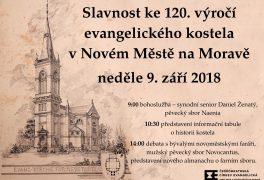 Oslavy 120. výročí evangelického kostela