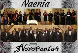 Novoroční benefiční koncert: Naenia a Novocantus