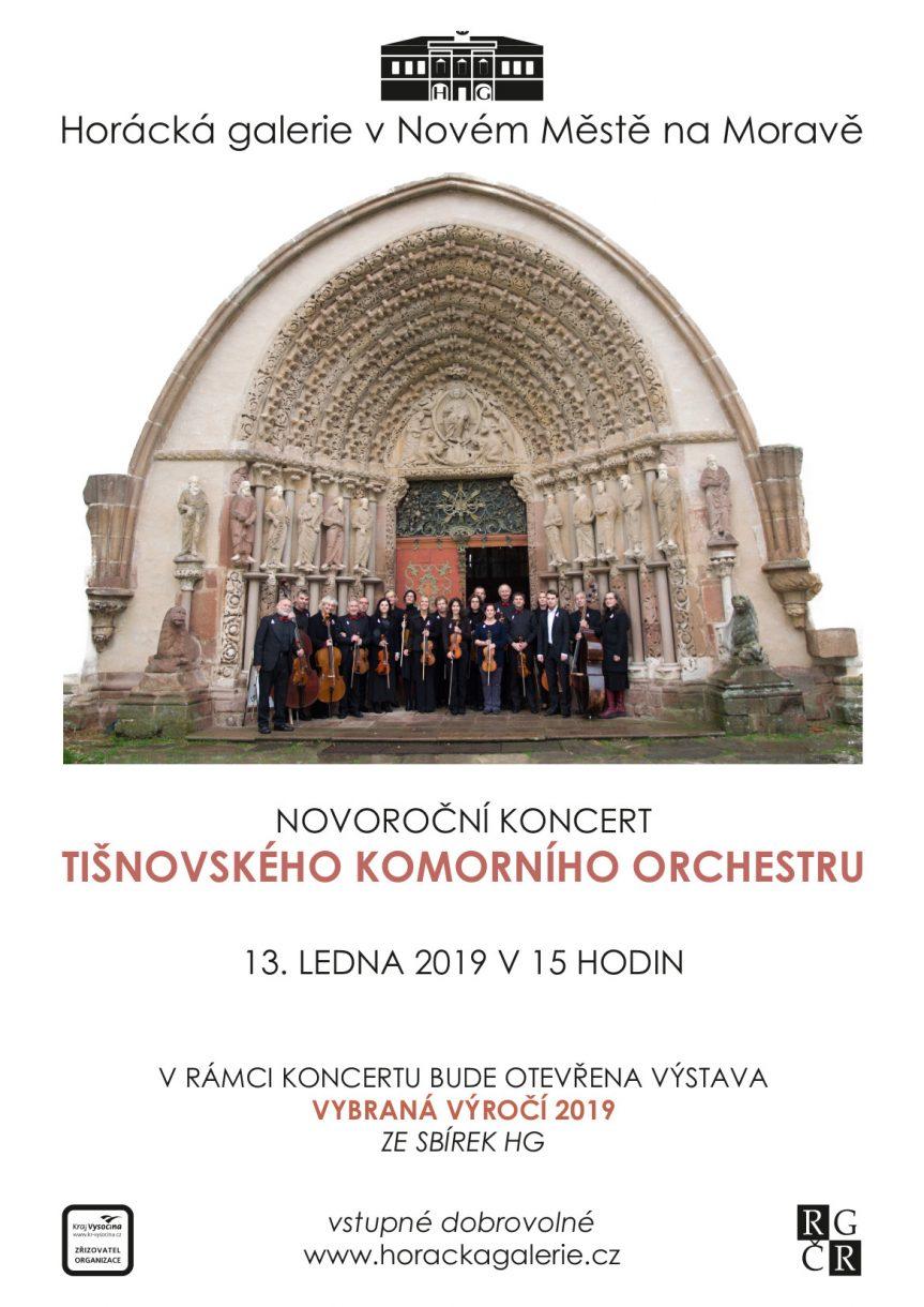 Novoroční koncert Tišnovského komorního orchestru