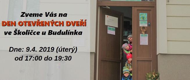 Den otevřených dveří ve Školičce u Budulínka