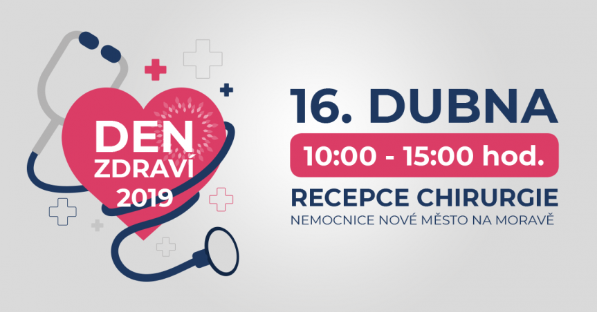 Den zdraví v Nemocnici Nové Město na Moravě