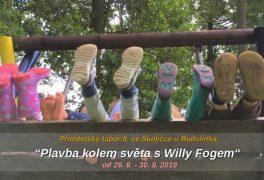 Cesta kolem světa s Willy Fogem – příměstský tábor ve Školičce u Budulínka