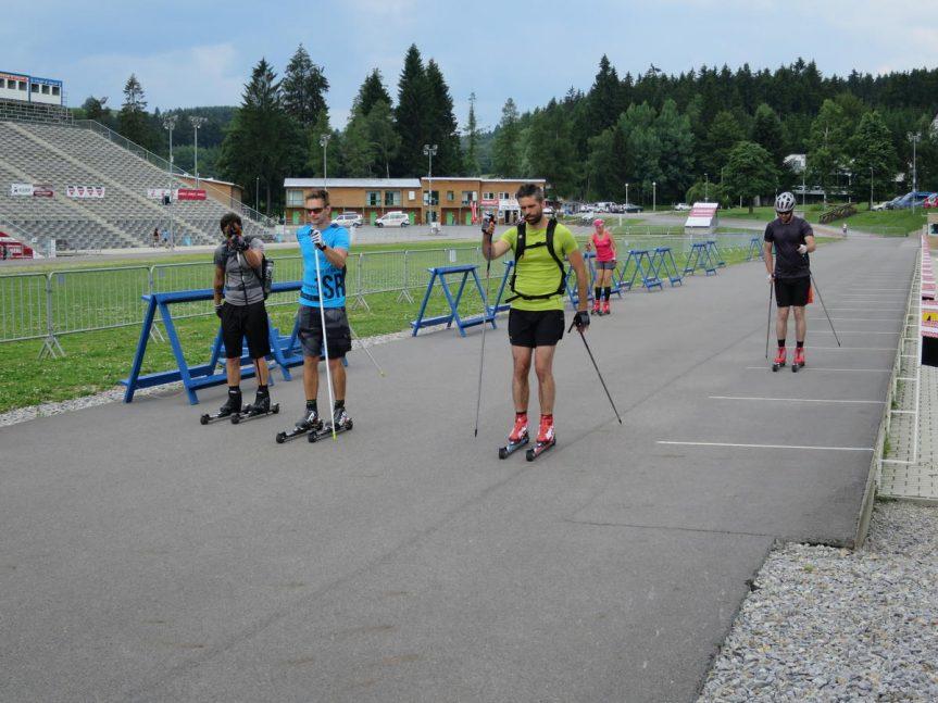 Jednodenní kurz na kolečkových lyžích ve Vysočina Areně – klasika