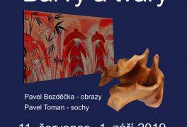 Pavel Bezděčka – obrazy, Pavel Toman – sochy