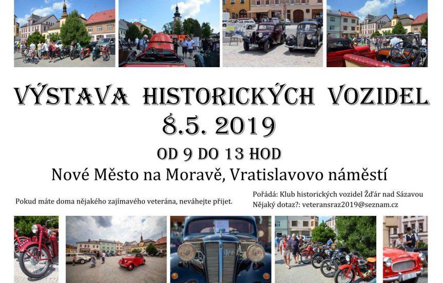 Výstava historických vozidel