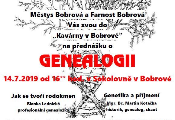 Přednáška o genealogii