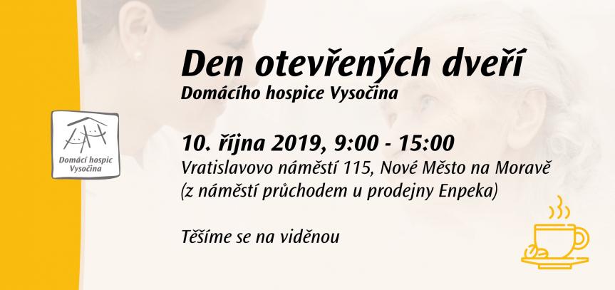 Den otevřených dveří Domácího hospice Vysočina