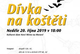 Dívka na koštěti – divadelní představení pro Domácí hospic Vysočina