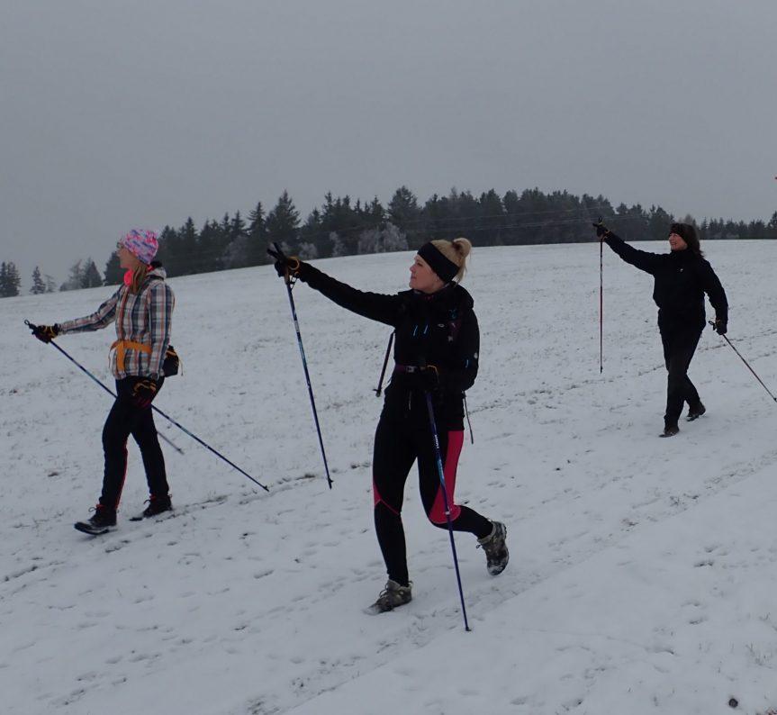 ZRUŠENO – Kurz Nordic Walking pro neználky – Únor 2020