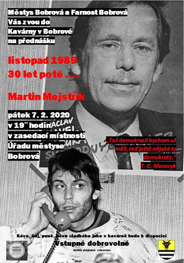 listopad 1989 – 30 let poté…