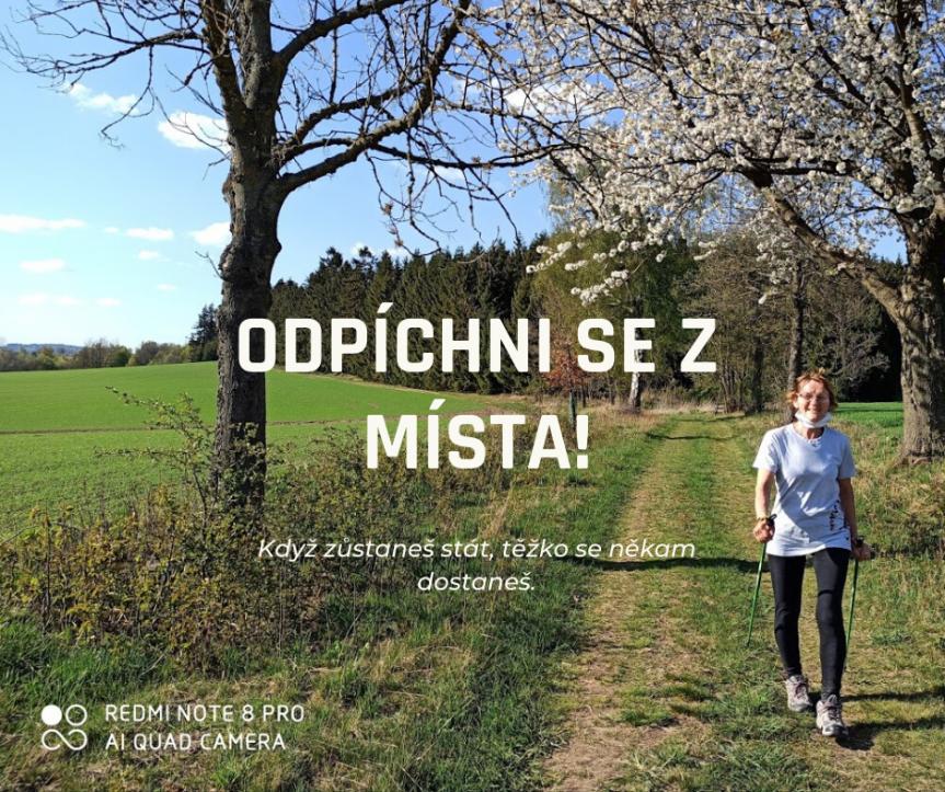 Kurz Nordic Walking pro neználky – červen 2020