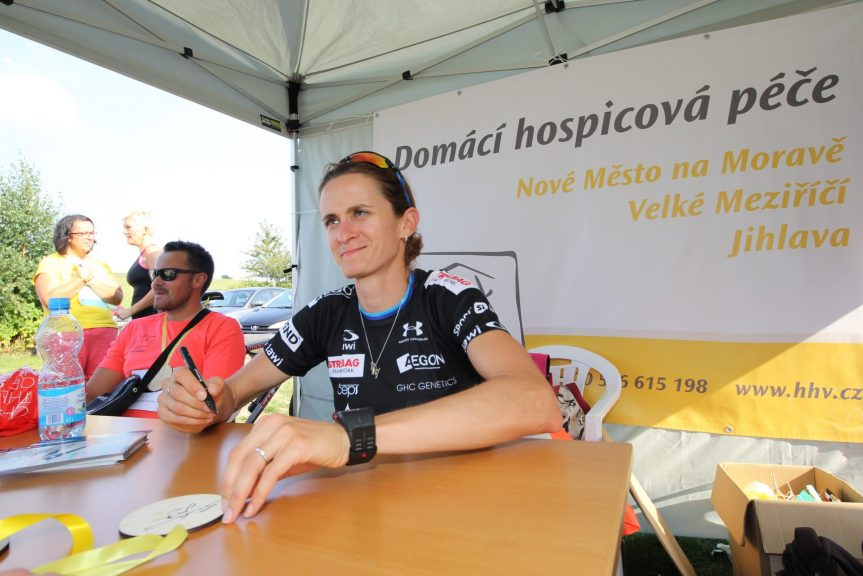 Běh pro hospic s Martinou Sáblíkovou
