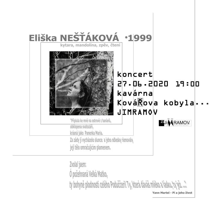 Eliška Nešťáková – koncert