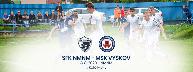 SFK Nové Město na Moravě – MFK Vyškov
