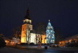 Zahájení adventu a rozsvícení vánočního stromu