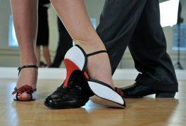 Slavnostní prodloužená tanečního kurzu