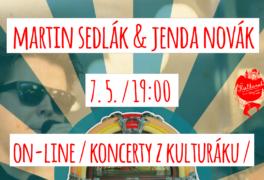 Martin Sedlák & Jenda Novák – Rock'n Roll párty – ONLINE STREAM
